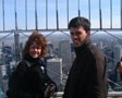 Thumbnail: New York, April 2001 - Mum and my bro on the Empire State Building.