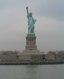 New York, April 2001 - The Statue of Liberty.