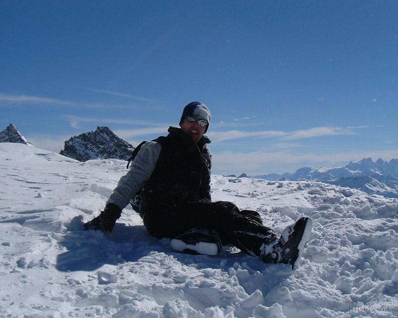 Mottaret 2002 - Above Orelle