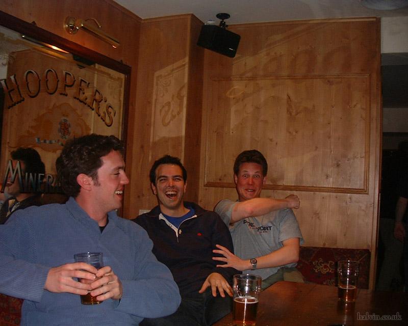 Mottaret 2002 - Beer fixes everything.