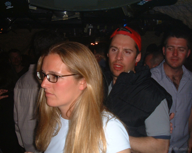 Mottaret 2002 - The hat worked well...