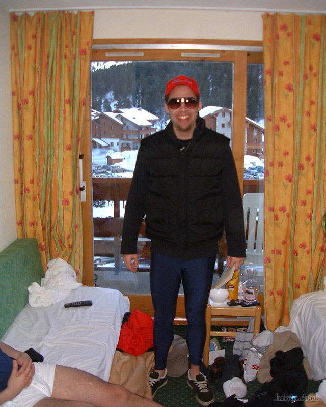 Mottaret 2002 - Nick, looking like a c__t.