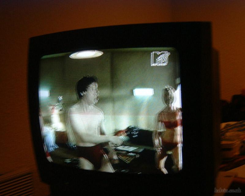 Mottaret 2002 - The underpants advert on MTV.