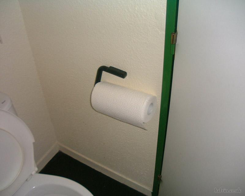 Mottaret 2002 - That's man-sized toilet paper!