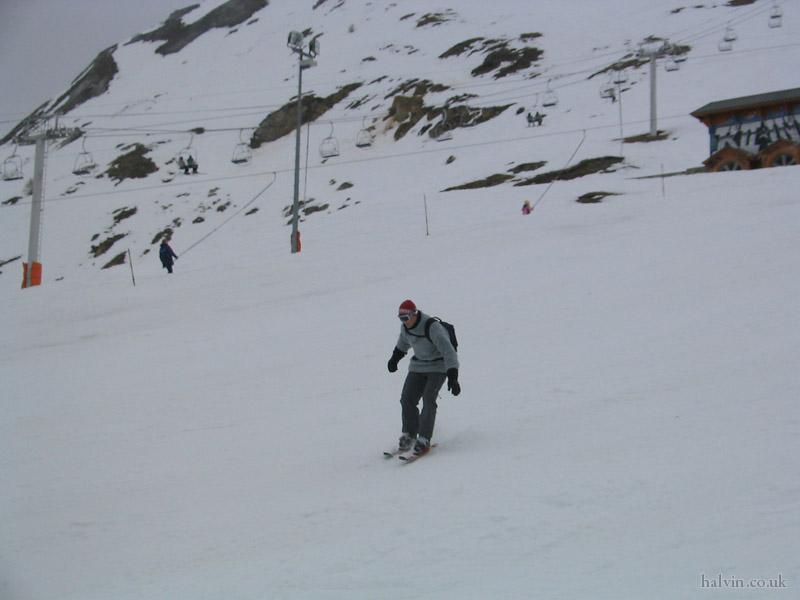 Tignes 2003 - Look at him go!