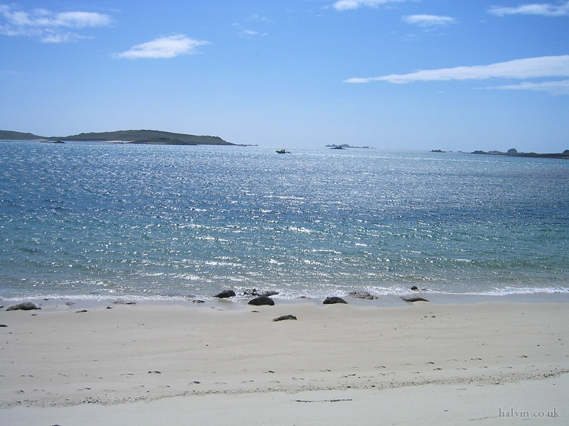 The Isles of Scilly - Appletree Bay.