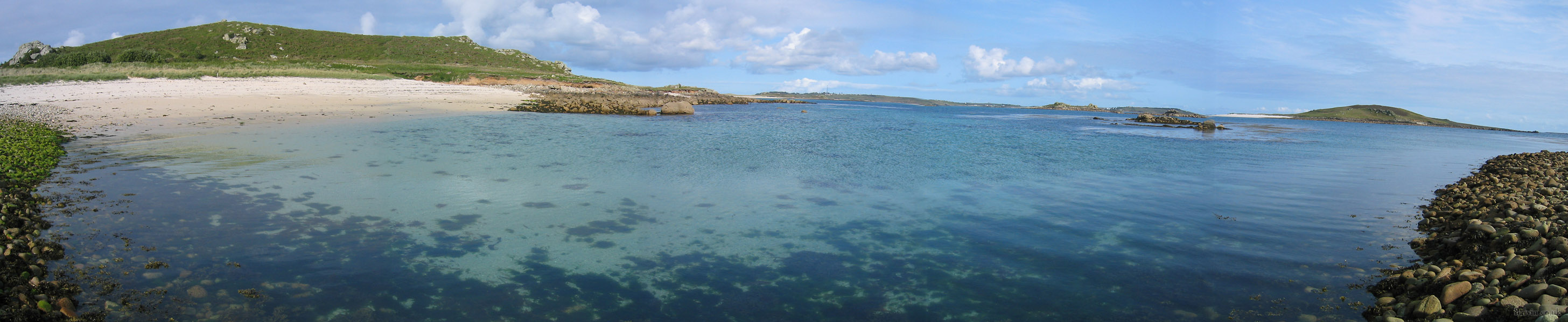 The Isles of Scilly - Bryher Panorama
