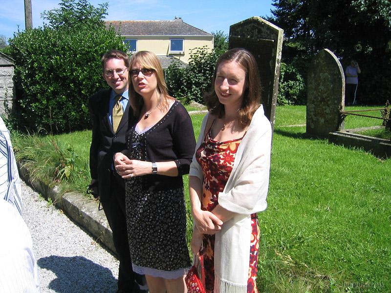 Mark and Hannah's Wedding - Nick McKay, Carol and Kate.