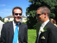 Photo: Mark and Hannah's Wedding - Will and Tim.