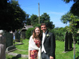Mark and Hannah's Wedding - Kate and me.