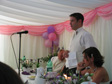 Mark and Hannah's Wedding - MB giving his speech.
