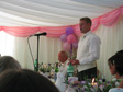 Pictures: Mark and Hannah's Wedding - Jon giving the best man's speech.  Against all expectations, it was quite good.