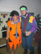 Dave's Emigration Party - Canadian Dave/Fred Flintstone.