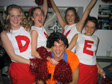 Dave's Emigration Party - I want cheerleaders.  Where are my cheerleaders?