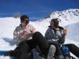 Picture: La Plagne 2005 - Having a snowball fight.