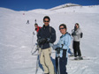 Picture: La Plagne 2005 - Pete, Andy, Liz and Kate.