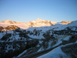 Pics: La Plagne 2005 - The sun setting on our last day.