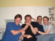 Thumbnail: My 30th - Tanners Hatch - Rob Morley, me, Rob Hodges and Dave Natts.