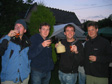 Picture: Welsh Cider Festival 2005 - Jimbo, JP, me and Bob.