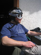 Val Thorens 2006 - Timmy with new goggles and a shiny helmet.