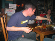 Val Thorens 2006 - MB, balls out, drinking tequila with some random Scandies.