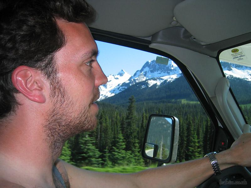 Canada 2006 - Check out the farmer's tan!