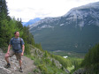 Images: Canada 2006 - On the way up Sulphur Mountan, looking a little gay.
