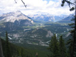 Pic: Canada 2006 - Banff from the top (almost) of Sulphur Mountain.