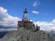 Photo: Canada 2006 - A weather station, maybe, at the top of Sulphur Mountain.