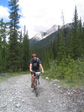Canada 2006 - Mountain biking with a stinking hangover.