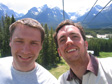 Thumbnail: Canada 2006 - On a way up a chair lift at Lake Louise.
