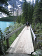 Pics: Canada 2006 - Uh, a bridge by Moraine Lake.