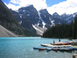 Photo: Canada 2006 - Moraine Lake, a photo just like the guidebook.