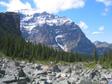 Canada 2006 - Big rocks, little Stu.