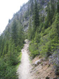 Thumbnail: Canada 2006 - The path up The Big Beehive.