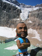 Images: Canada 2006 - Mr T came on this walk.