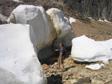 Photo: Canada 2006 - Big lumps of ice.