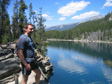 Canada 2006 - Horseshoe lake.
