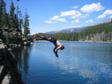 Canada 2006 - Diving.  Badly.