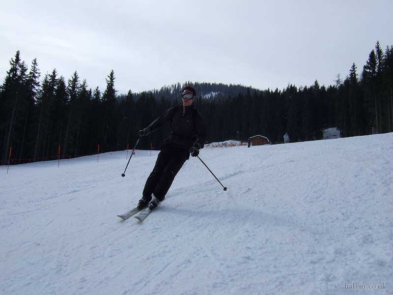Schladming, Austria - I could have sworn I was skiing better than this.