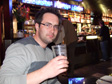 Thumbnail: Schladming, Austria - Bill finishing his first pint of the holiday. At 6:02am.