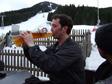 Pic: Schladming, Austria - 'I can write da feem toon, sing da feem toon.'
