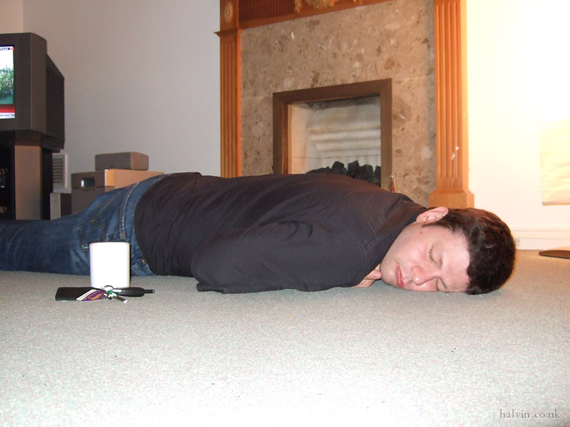 Nick Buckland's Stag Do - Some people have no stamina.