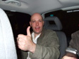 Picture: Nick Buckland's Stag Do - In the taxi on the way home.
