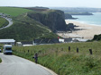 Gallery: Cornwall Christmas - Cycling up from Watergate Bay