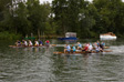 Thumbnail: Wargrave and Shiplake 2008 - We're the boat in the middle.  At the back.