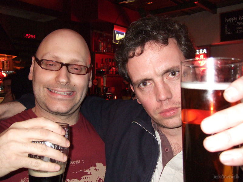 My Stag - Justin May and me