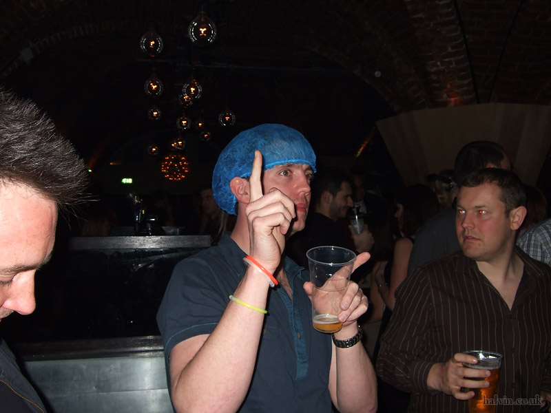 My Stag - Looks like I kept my hairnet from the karting