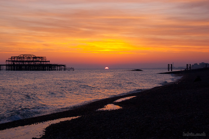 My Stag - Sunset over Brighton Pier