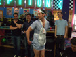 My Stag - Bowling in a nurses outfit.  As you do.